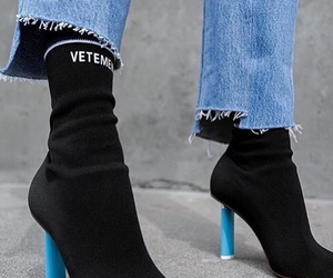 boots, fashion, and vetements image