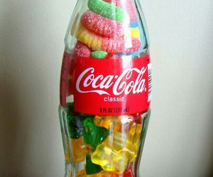 coca cola, sweet, and candy image