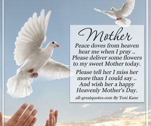 In Loving Memory Of All Mothers Living In Heaven On Mothers Day A