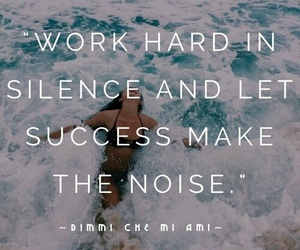 quote, silence, and work image