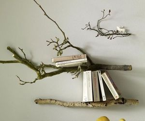 book, decoration, and tree image