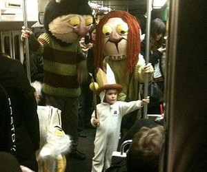 where the wild things are, kids, and subway image