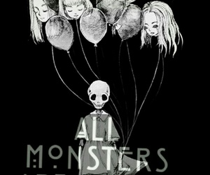 all monsters are human, asylum, and ahs image