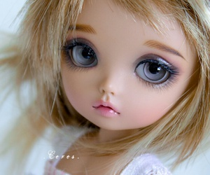 baby, bjd, and doll image