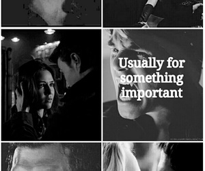 the vampire diaries, delena, and klaroline image