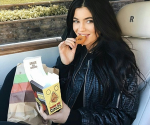 kylie jenner, kylie, and food image