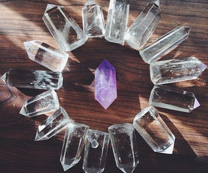 cristal, crystal, and stone image