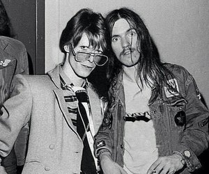 bowie, david bowie, and motorhead image
