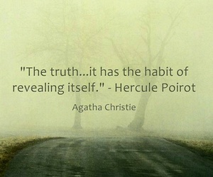 agatha christie, quote, and true image