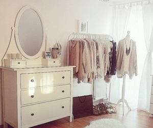 bedroom, clothes, and pretty image