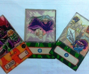 anime, cards, and yugi oh image
