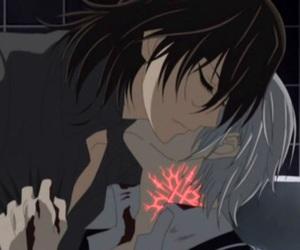 vampire knight, zero, and kaname image
