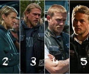 jax teller, Charlie Hunnam, and sons of anarchy image