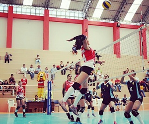 sport, voleyball, and voley image