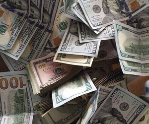 money, theme, and green image