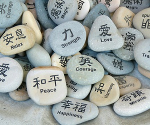 magic, peace, and rocks image