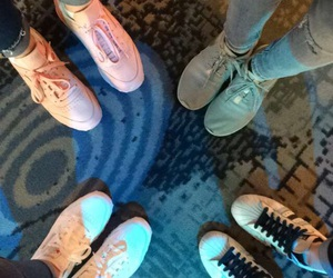 besties, cinema, and shoes image