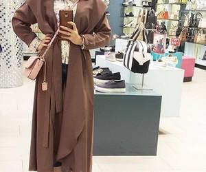 hijab, hijab fashion, and abaya image