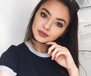 beauty, girls, and makeup image