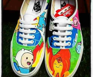 vans, adventure time, and shoes image