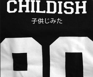 childish, black, and grunge image