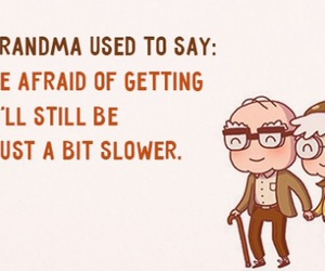 funny quote, grandma, and quote image