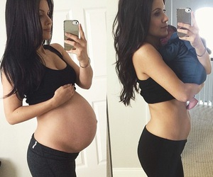 baby, baby bump, and before and after image