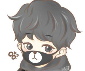 chanyeol, exo, and fanart image