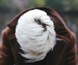 hair, boy, and white image