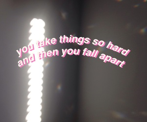 fall apart, quote, and melanie martinez image