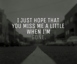 gone, hope, and quotes image