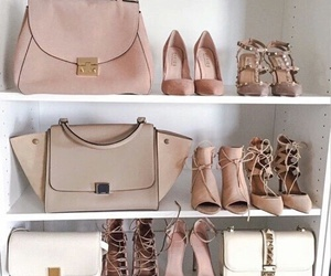 bag, bags, and shoes image