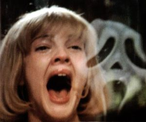 scream, horror, and ghostface image