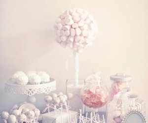 candy, sweet, and white image
