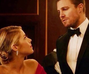 oliver queen, love, and felicity smoak image