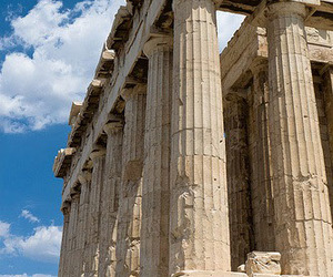 acropolis, athena, and architecture image