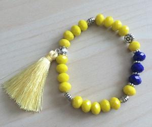 bracelet, craft, and hand made image