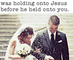 godly, hold on, and jesus image