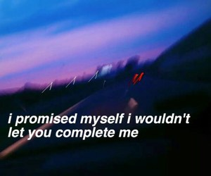 aesthetic, myself, and promise image