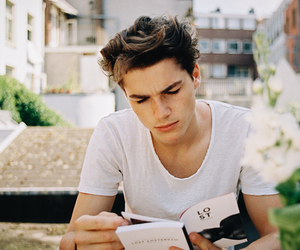 boy, jack harries, and book image