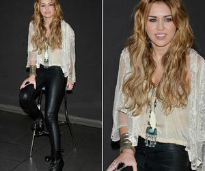 hair, miley, and look image