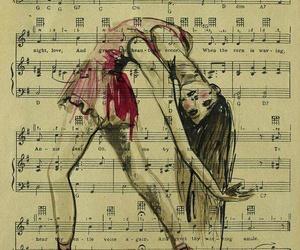 dance, music, and art image