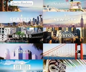 la, Miami, and chicago image