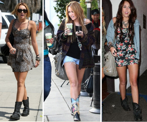 look, style, and miley image