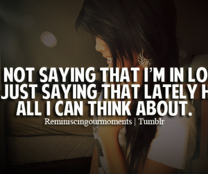 love quotes, girl quotes, and tumblr quotes image