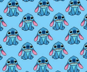 wallpaper, stitch, and blue image