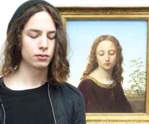art, boy, and funny image