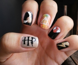 nails and harry potter image