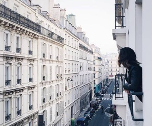 girl, building, and photography image