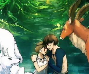 anime, ghibli, and freedom image